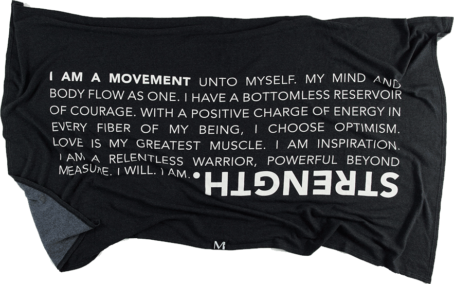 STRENGTH Blanket
